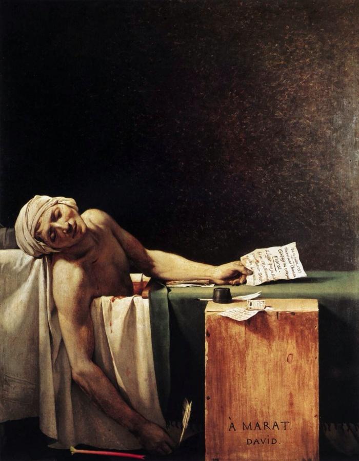 La Mort de Marat, la Rhubarb