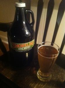 Shoreline Brewery's Stella Blue.